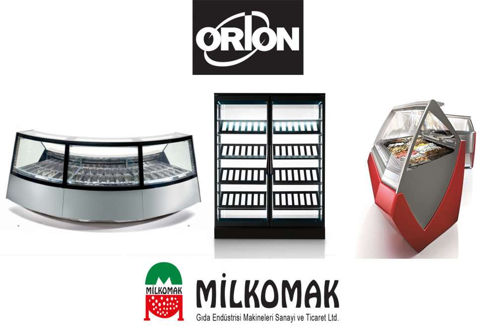 ORION Ice Cream and Cake Display Cabinets