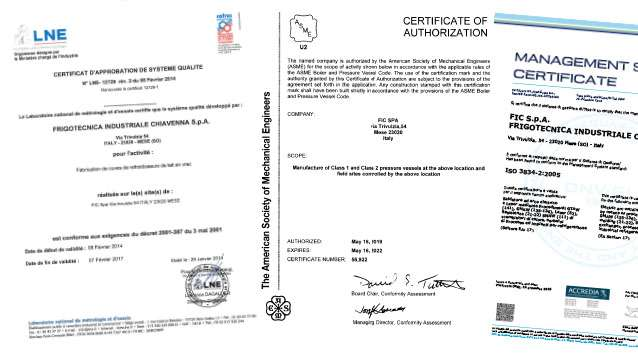 Fic Certifications