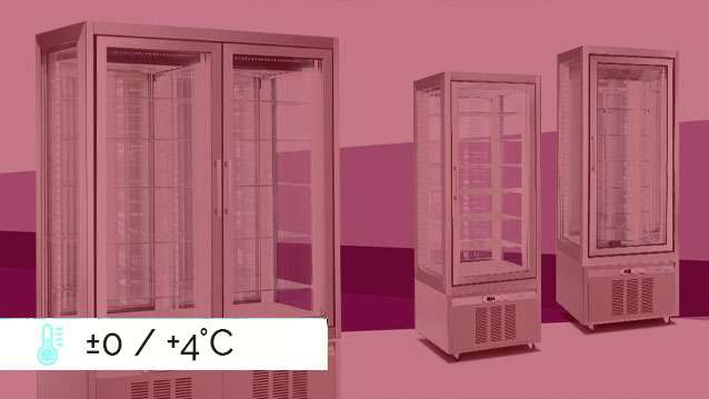 Classica Refrigerated Display Cabinets ±0 / +4°C