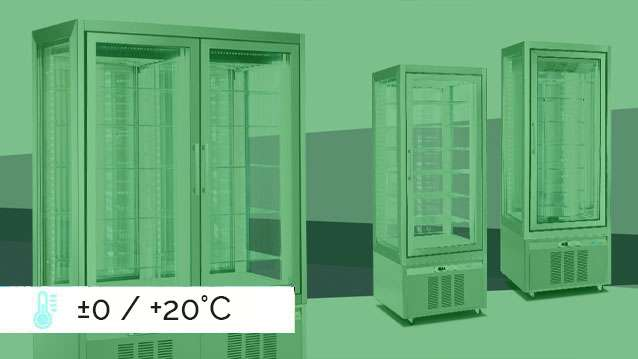 Classica Refrigerated Display Cabinets ±0 / +20°C