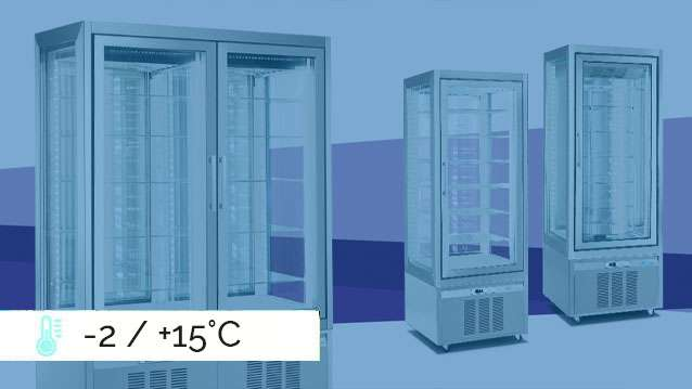Classica Refrigerated Display Cabinets -2 / +15°C