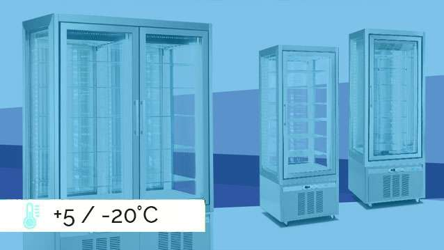 Classica Refrigerated Display Cabinets +5 / -20°C