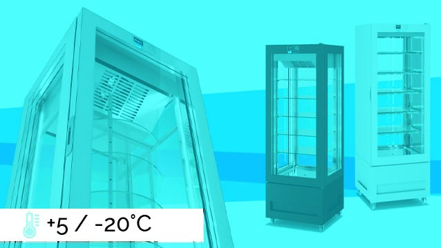 VITRA  Refrigerated Display Cabinets +5 / -20°C