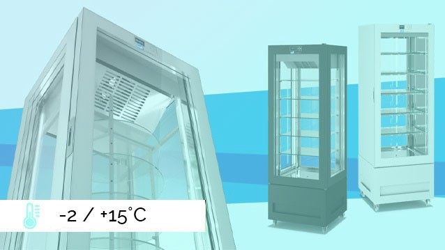 VITRA Refrigerated Display Cabinets  -2 / +15°C